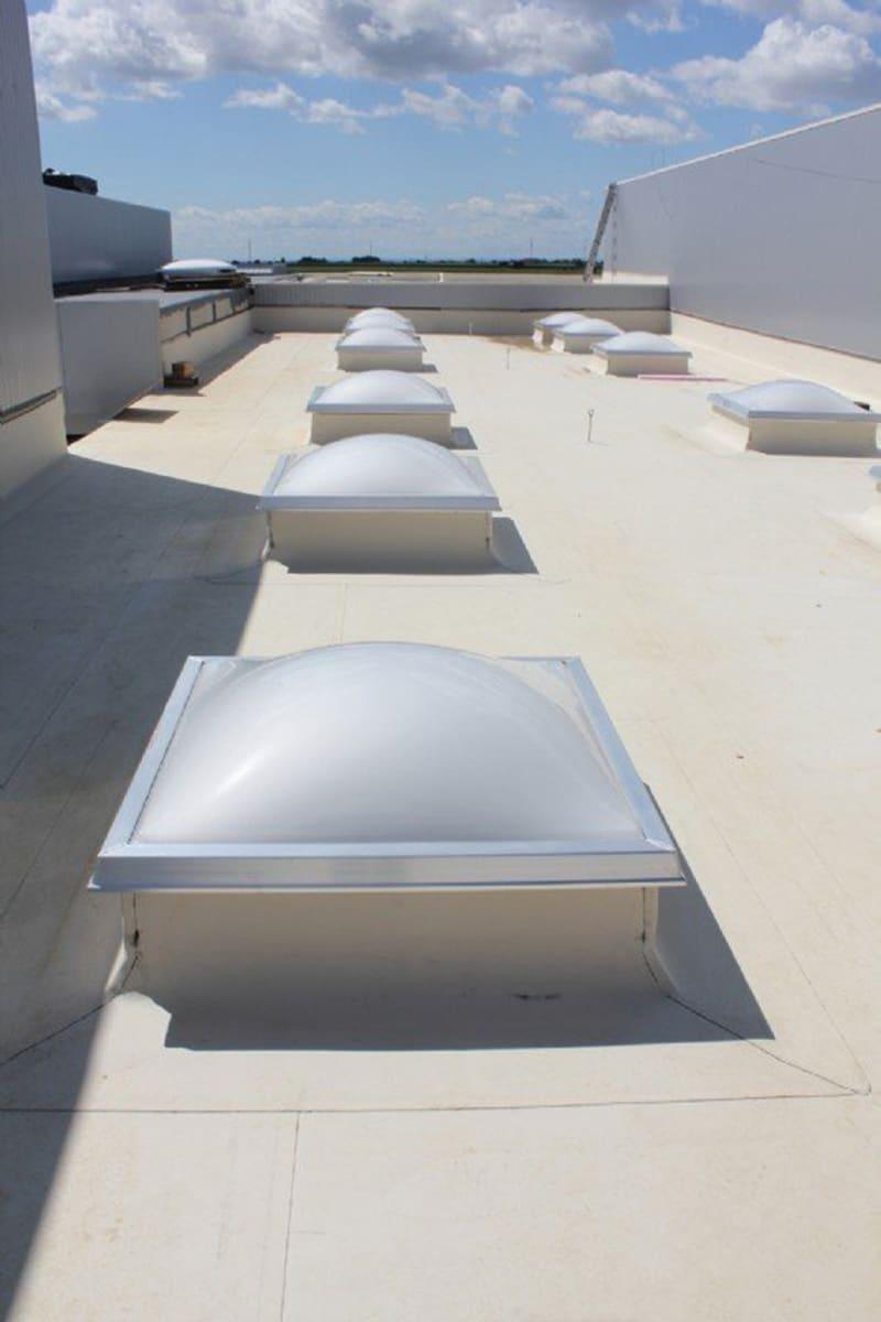 Wemalux kupola | raktárcsarnok | Ausztria